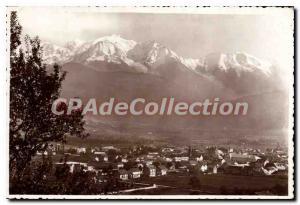 Postcard Modern And Sallanches Mont Blanc