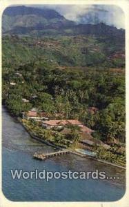 Tahiti French Polynesia Once the home of Princess Pomare, Hotel Tahiti Tahiti...
