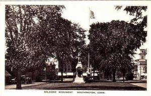 Connecticut Southington Soldiers Monument Albertype