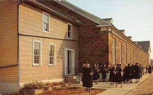 Amana Iowa Church Ladies Entrance Vintage Postcard K54762