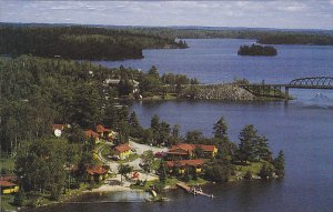 BC: Crawford´s Camp, Sioux Narrows, Ontario, Canada, 40-60s