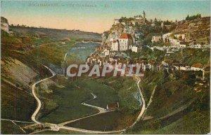 Postcard Old Rocamadour Vue Generale