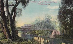 Bridge on Canal, Fairmount Park, Phildelphia, Pennsylvania, 00-10s