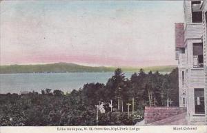 New Hampshire Lake Sunapee From Soo Nipi Park Lodge 1937
