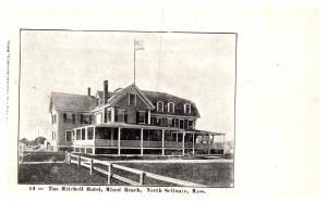 Massachusetts  North Scituate , Minot beach, the Mitchell Hotel
