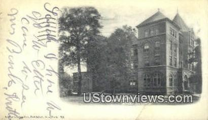 Hasbrouck Institute Jersey City NJ 1907
