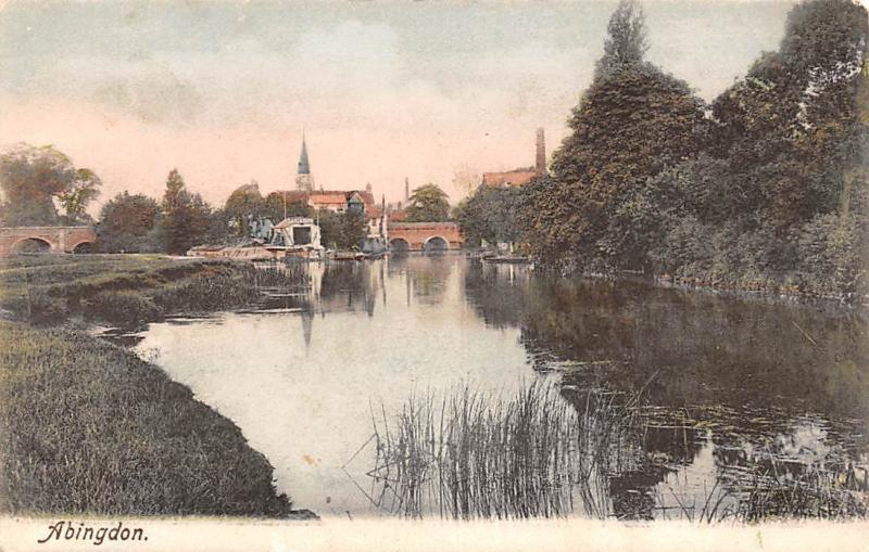 England Abingdon, on Thames, Frith's Series