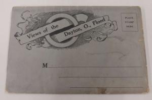 Dayton Ohio Flood Disaster Scenes Antique Folder Postcard J64124
