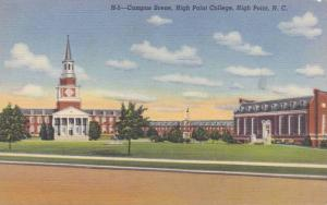 Campus Buildings,High Point College, High Point, North Carolina 1930-40s