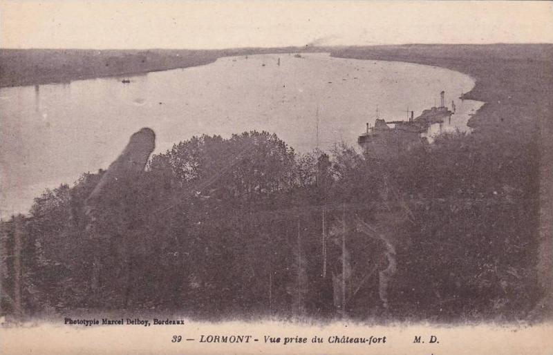 Vue Prise Du Chateau-Fort, Lormont (Gironde), France, 1900-1910s