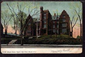 Newark Orphan Asylum High School,Newark,NJ BIN