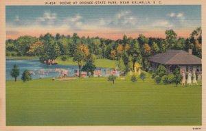 WALHALLA, South Carolina, 30-40s; Scene at Oconee State Park