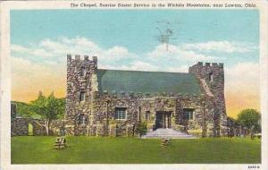 Ohio Lawton The Chapel Sunrise Easter Service In The Wichita Mountains