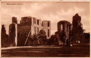 Kenilworth Castle lot of 8 UK vintage Postcard
