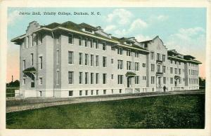 NC, Durham, North Carolina, Trinity College, Jarvis Hall, E.C. Kropp 6803