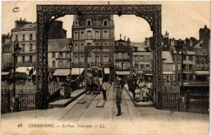 CPA  Cherbourg - Le Pont Tournant  (632789)
