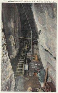 CHIMNEY ROCK, North Carolina, 1910-30s; Moonshiners Cave