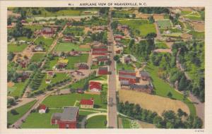 Aerial View of Weaverville, North Carolina 1930-40s