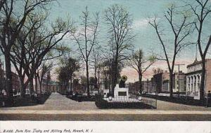 New Jersey Newark Porto Rico Trophy And Miliary Park