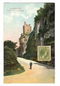 Luxembourg , Ruine du Lutzelburg, 00-10s