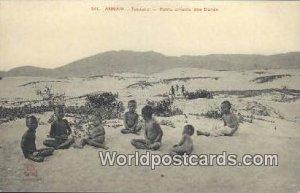 Tourane, Petits enfants des Dunes Annam Vietnam, Viet Nam Unused