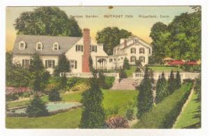 Sunken Garden, Outpost Inn, Ridgefield, Connecticut, 1900-1910s