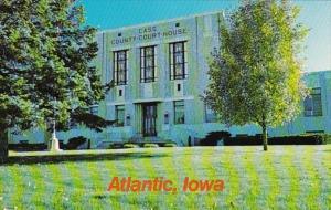 Iowa Atlantic Cass County Court House