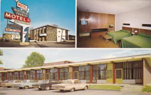 Tourist Motel , MONTREAL , Quebec , Canada , 50-60s