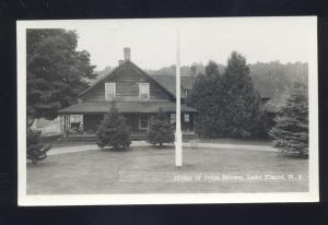 RPPC LAKE PLACID NEW YORK HOME OF JOHN BROWN VINTAGE REAL