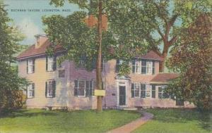 Massachusetts Lexington Buckman Tavern