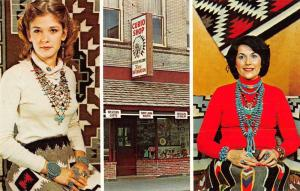 Pendleton Oregon The Curio Shop Advertising Vintage Postcard J62017