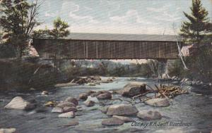 CONWAY, New Hampshire; Swift River Covered Bridge, PU-1907
