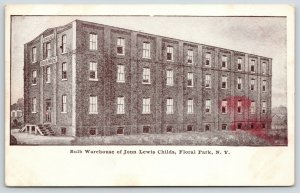 Floral Park Long Island NY~John Lewis Childs Bulb Warehouse~Man in Door~c1905
