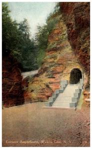 New York Watkins Glen ,  Entrance to Amphitheartre