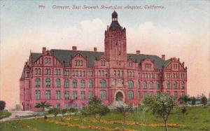 Carlifornia Los Angeles Convent East Seventh Street 1914