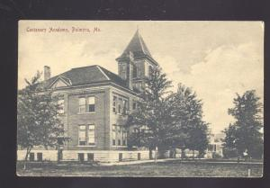 PALMYRA MISSOURI CENTENARY ACADEMY SCHOOL ANTIQUE VINTAGE POSTCARD MO.