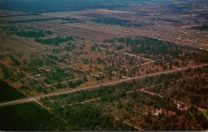 Florida Marion County Aerial View Rainbow Acres Ranchettes U S Highway No 41 ...