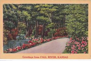 Kansas Greetings From Fall River