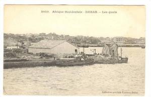 Afrique Occidentale, Les Quais, Dakar, Senegal, Africa, 1900-1910s
