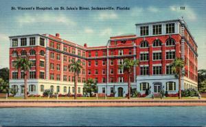 Florida Jacksonville St Vincent's Hospital 1953