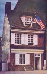 Pennsylvania Philadelphia Betsy Ross House Birthplace Of Old Glory