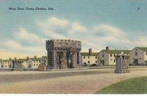 CAMP CHAFFEE , Arkansas , 1930-40s ; Main Gate