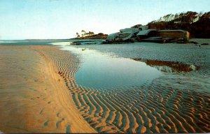South Carolina Hilton Head Island Beach Scene Spanish-American War Gun Emplac...