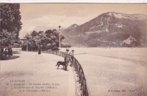 France Lac d'Annecy Le Jardin Public