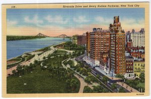 New York City, Riverside Drive and Henry Hudson Parkway