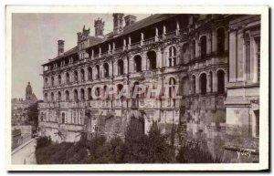 Old Postcard Loire Chateau de Blois Facade Francois 1er La Douce France dela ...
