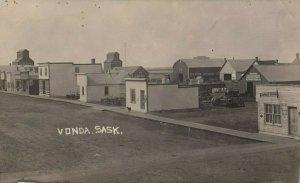 RP: VONDA , Saskatchewan, 1900-10s ; Main Street , #2