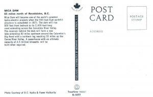 REVELSTOKE , B.C. , Canada , 50-60s ; MICA Dam
