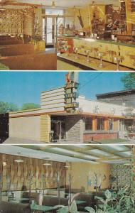 Tropicana Dining Room, Inside View, MONT LAURIER, Quebec, 40-60´s