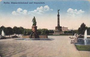 Berlin , Germany , Bismarckdenkmal und Siegessaule , 00-10s